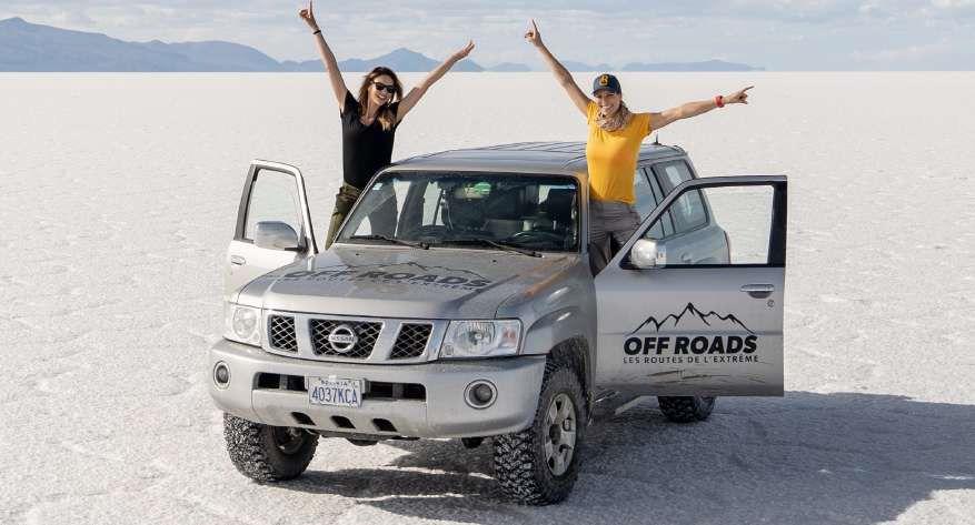 Laury Thilleman entraîne Ariane Brodier en Bolivie dans « Off Roads, les routes de l'extrême » ce soir sur RM Découverte