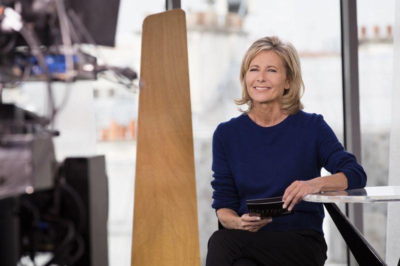 Claire Chazal (Crédit photo : François Roelants pour FTV)