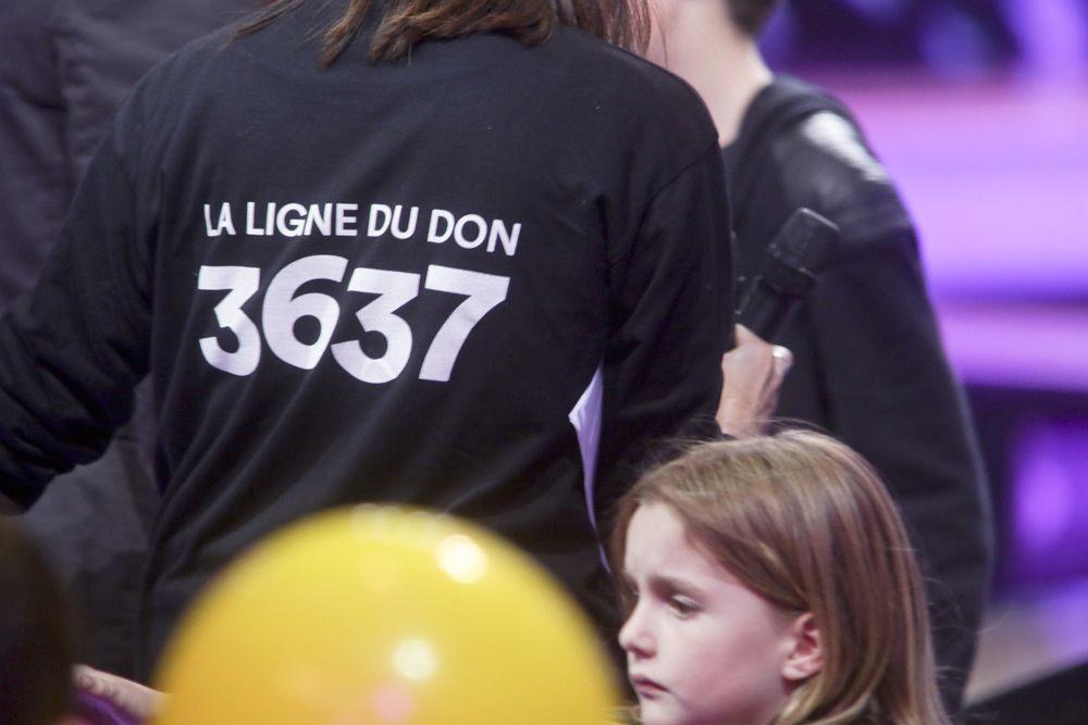 3637 - La ligne du Téléthon (Crédit photo : Gilles Scarella / FTV)