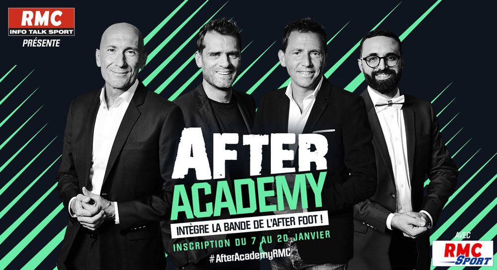 RMC ouvre son « After Academy RMC » et cherche son nouvel afterien pour l'« After Foot »