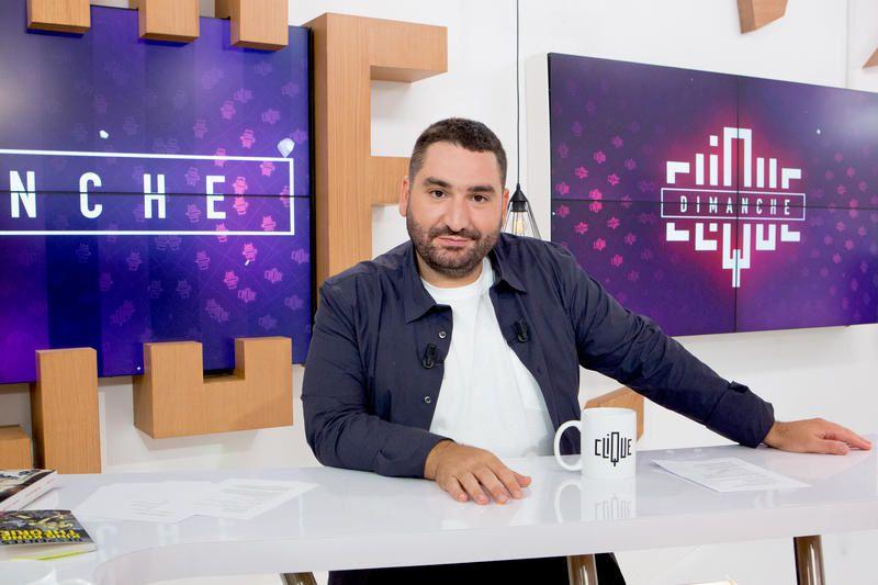 """Omar Sy et Didier Eribon invités de """"Clique Dimanche"""" de """"Clique Dimanche"""" ce midi sur CANAL+"""