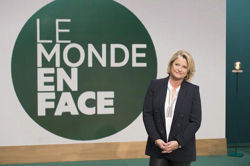 Marina Carrère d'Encausse (Crédit photo : Nathalie Guyon / FTV)