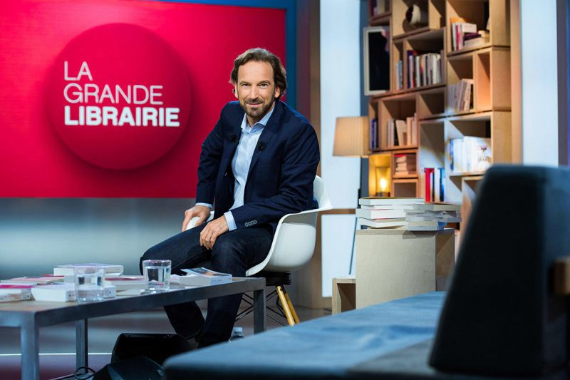 François Busnel (Crédit photo : Jean-Philippe Baltel pour FTV)