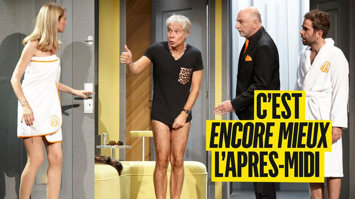 """La pièce de théâtre """"C'est encore mieux l'après-midi"""" diffusée en direct ce soir sur Paris Première"""