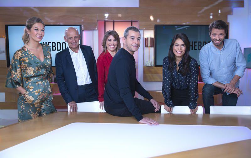 L'équipe de C'est l'hebdo (Crédit photo : Patrick Fouque / FTV)