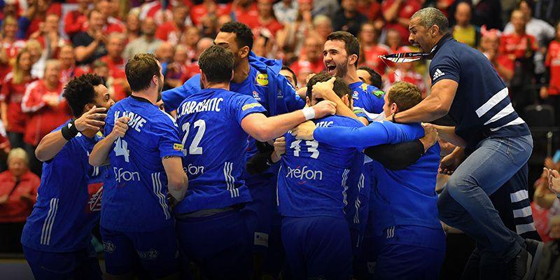 L'équipe de France de handball (Crédit photo : Mantey / L'Equipe)