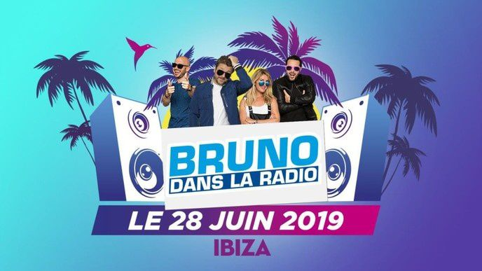La dernière émission de la saison « Bruno dans la radio » diffusée en direct d'Ibiza demain sur W9