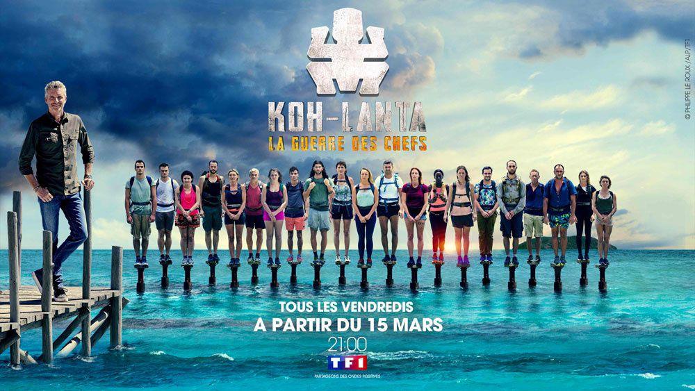 """La grande finale de """"Koh Lanta, la guerre des chefs"""" diffusée en direct ce soir sur TF1"""