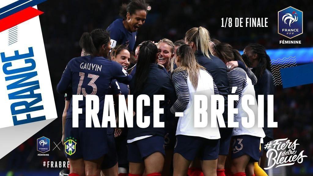 Coupe du Monde féminine de football - Le huitième de finale France / Brésil à suivre en direct ce soir sur TF1