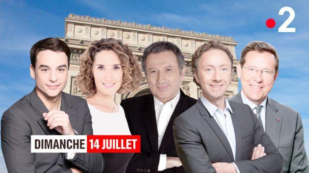 France 2 et franceinfo en édition spéciale pour les les cérémonies du 14 juillet
