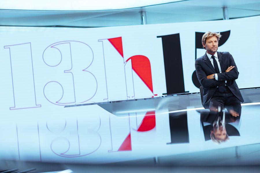 Laurent Delahousse (Crédit photo : Benjamin Decoin / FTV)