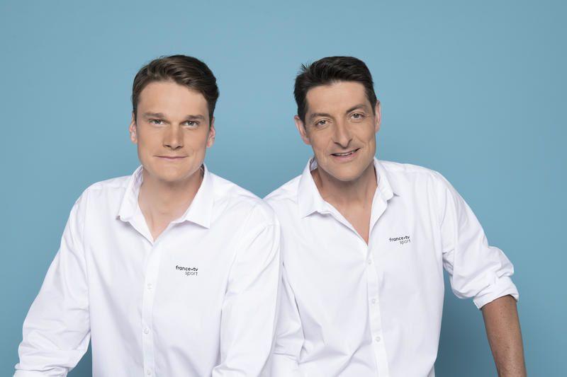 Yannick Agnel et Alexandre Boyon (Crédit photo : Nathalie Guyon / FTV)