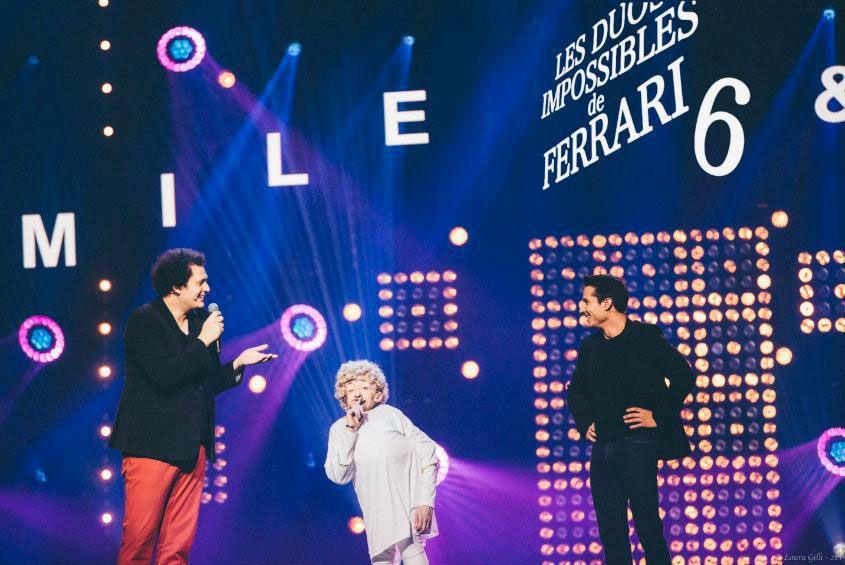 Les duos impossibles de Jérémy Ferrari  (Crédit photo : Laura Gilli / Dark Smile Productions)