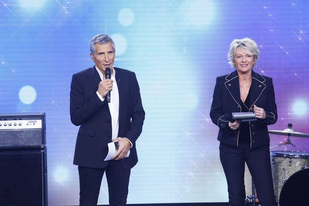 Nagui et Sophie Davant (Crédit photo : Christophe Russeil / FTV)