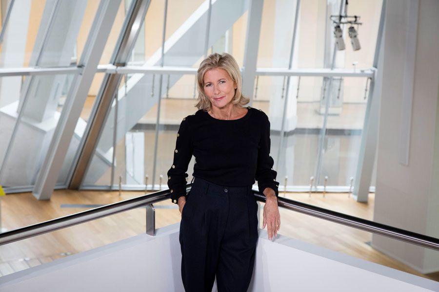 Claire Chazal (Crédit photo : François Roelants / FTV)
