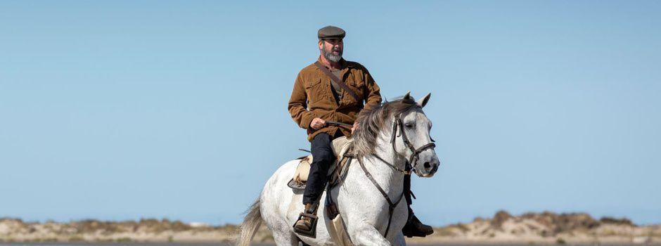 """Eric Cantona tourne pour France 3 un nouvel épisode de la série """"Le Voyageur"""""""