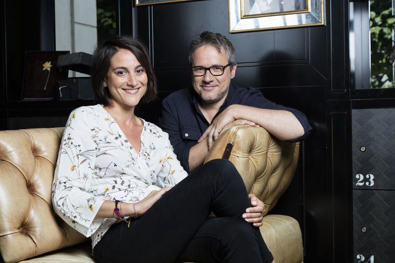 Carolina de Salvo et Philippe Gougler (Crédit photo photo : François Roelants)