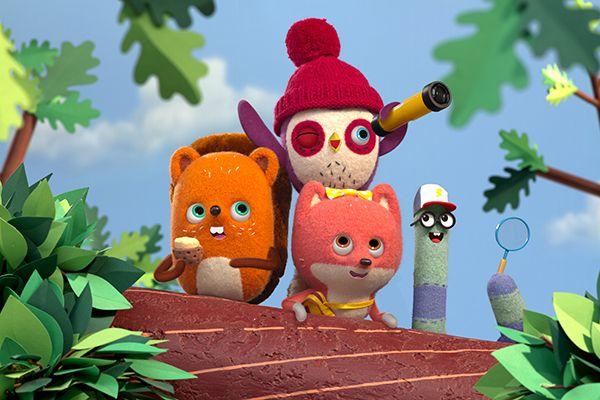 """""""Becca et sa bande"""", nouvelle série d'animation à découvrir dès ce soir sur Nickelodeon Junior"""