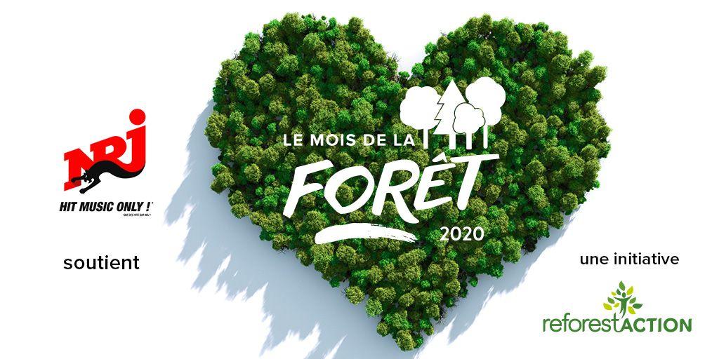 A l'occasion du mois de la forêt sur NRJ, l'équipe de Manu dans le 6/9 va planter le 21 mars des arbres à Voinsles