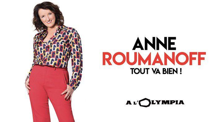 """""""Tout va bien !"""", spectacle inédit d'Anne Roumanoff ce soir sur Paris Première"""