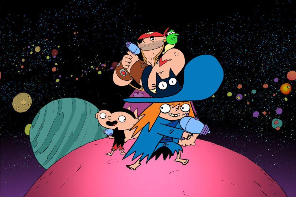 """""""Sardine de l'espace"""", nouvelle série d'animation à découvrir dès le 4 mai sur téléTOON+"""