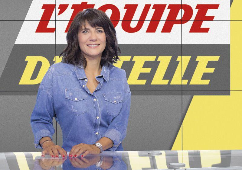 """Estelle Denis aux commandes dès ce soir les commandes de """"L'Équipe du Soir"""""""
