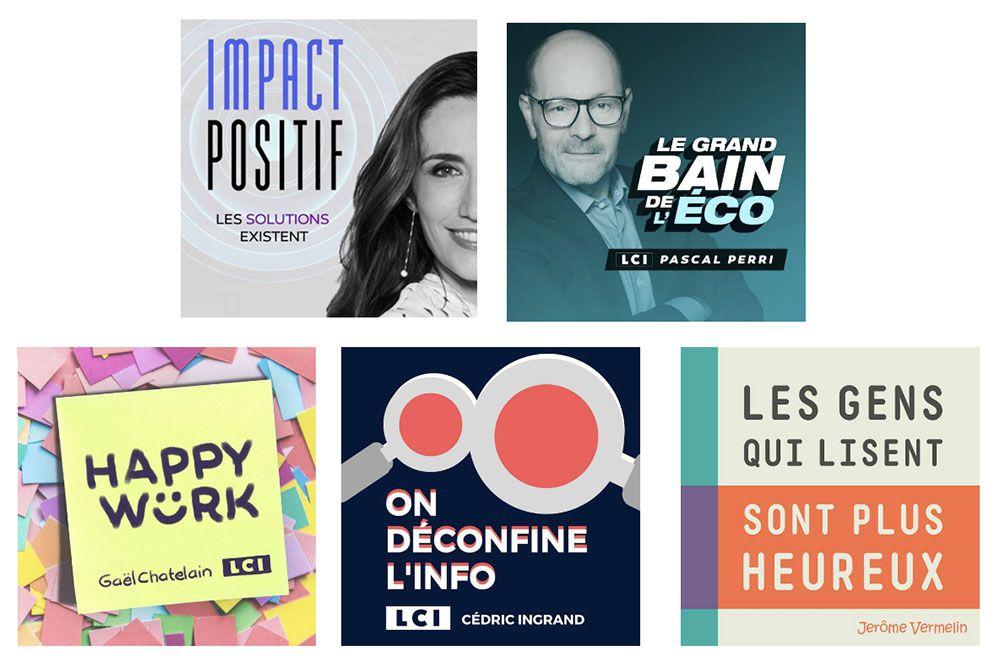 Les podcasts natifs de l'Information du Groupe TF1 disponibles sur les principales plateformes de diffusion
