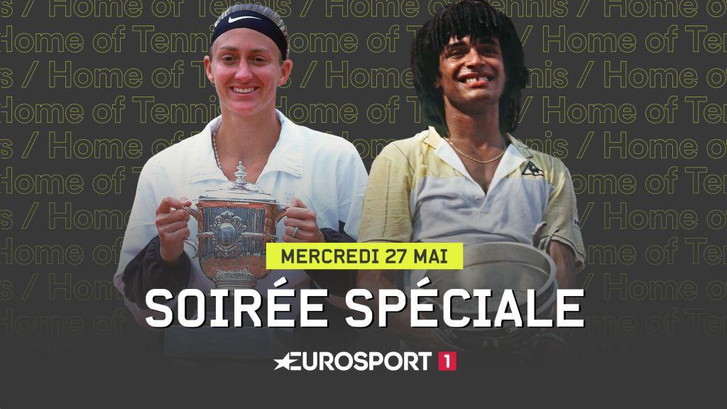 Soirée spéciale ce mercredi sur Eurosport consacrée aux gloires françaises à Roland-Garros