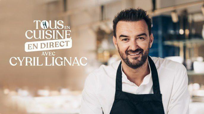 """""""Tous en cuisine en direct avec Cyril Lignac"""" sur M6 : Les ingrédients de ce lundi 8 juin (Salade de chèvre chaud et mousse chocolat blanc stracciatella)"""
