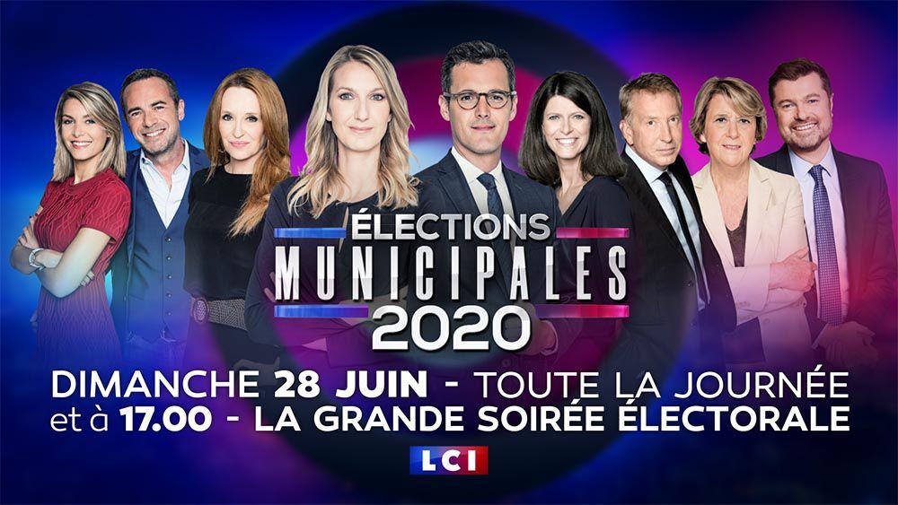 Journée spéciale demain sur LCI pour le 2nd tour des élections municipales