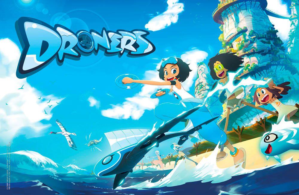 """""""Droners"""", nouvelle série animée à découvrir prochainement dans TFOU"""