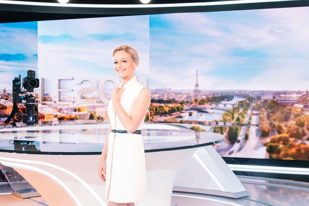 """Audrey Crespo-Mara rejoindra à la rentrée l'équipe de """"Sept à huit"""" sur TF1"""