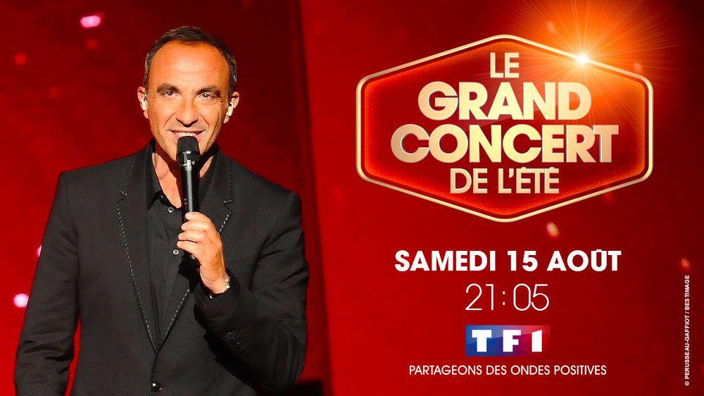 « Le grand concert de l'été » depuis les Arênes de Nîmes ce soir sur TF1
