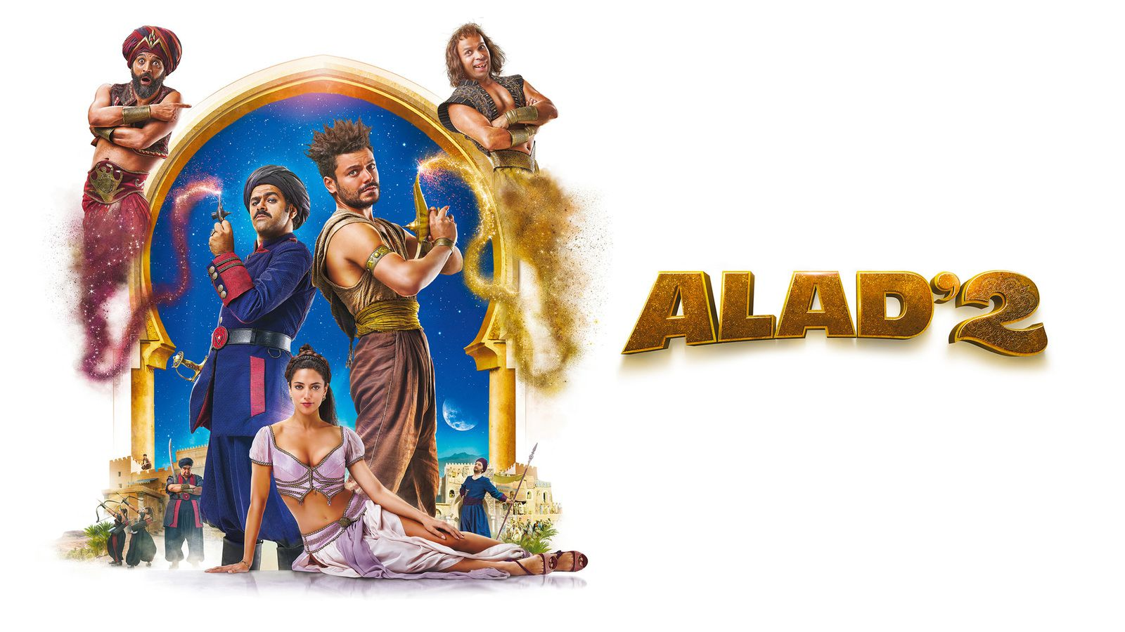 """""""Alad'2"""", film inédit avec Kev Adams et Jamel Debbouze ce soir sur M6"""