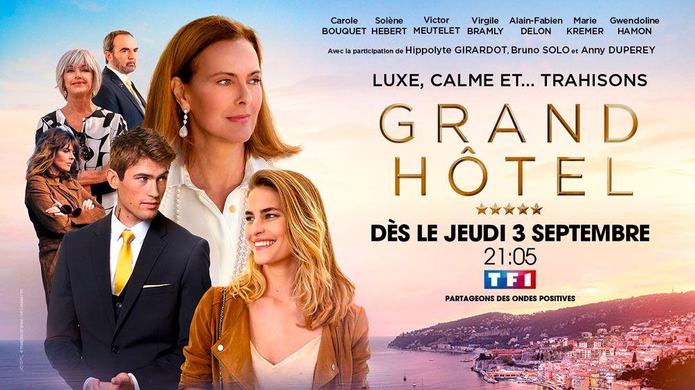 """""""Grand Hotel"""", nouvelle série avec Carole Bouquet dès le 3 septembre sur TF1"""