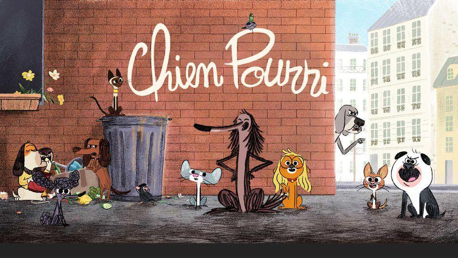"""La série animée """"Chien pourri"""" adaptée des livres diffusée dès demain sur France 3"""
