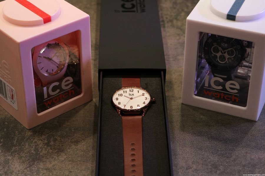 Ice-Watch montre Ice Time Ice Loulou Ice Aqua