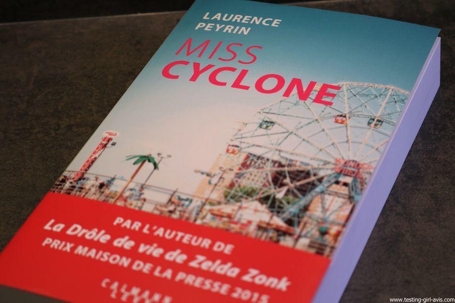 Livre Miss Cyclone de Laurence Peyrin [Critique]