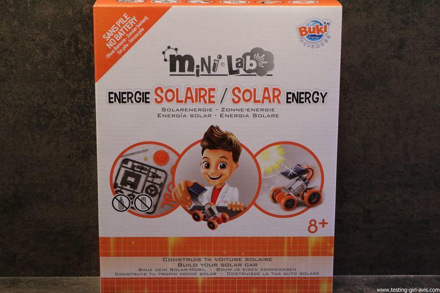 Un voiture à énergie solaire à construire ? C'est avec Buki Sciences