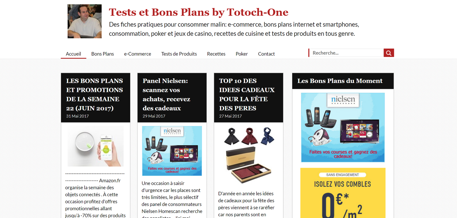 Tests et bons plans by Totoch-One