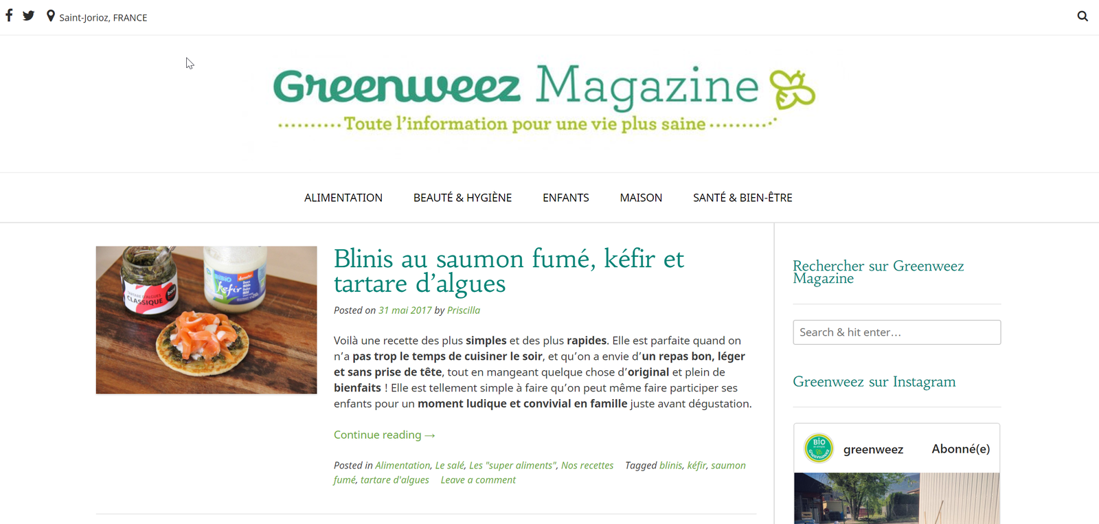 Greenweez Magazine