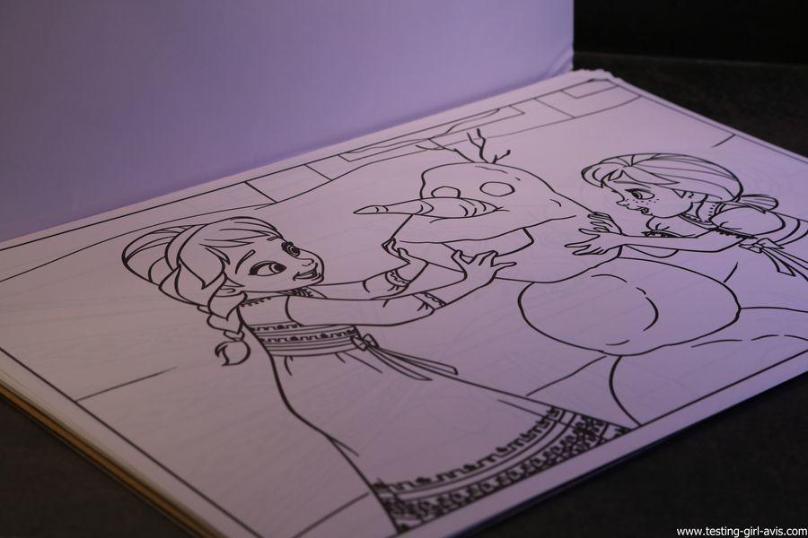 coloriages disney la reine des neiges crayola