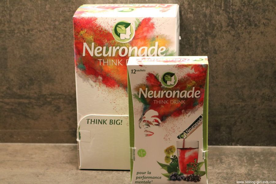 Neuronade Think Drink Boisson