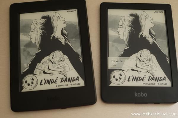 Kobo Clara HD / Kindle Paperwhite : Mon comparatif - Les