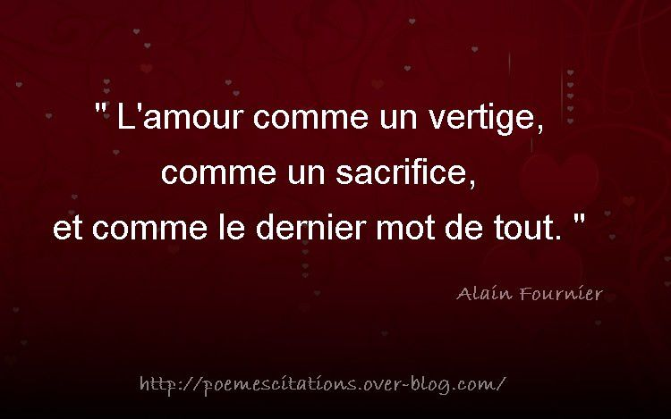 l amour poemes citations