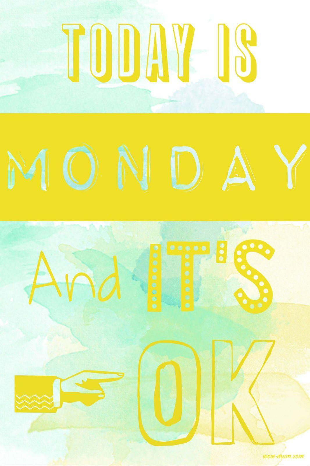 C'est lundi et c'est permis !