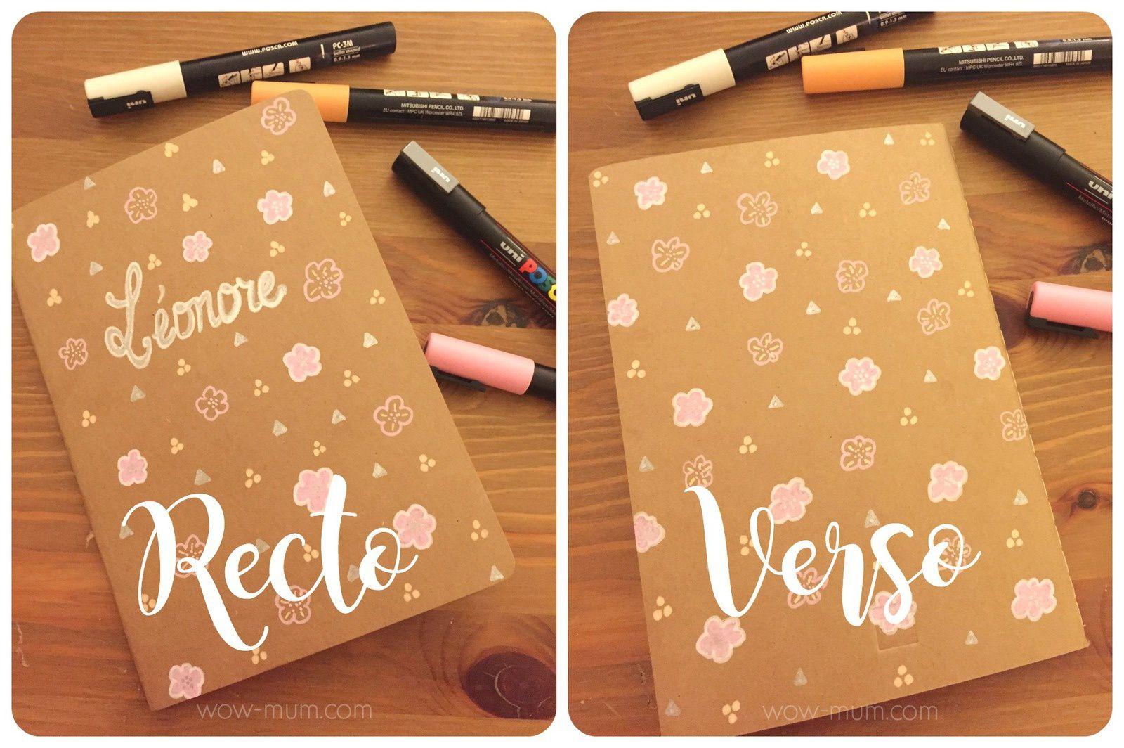 Do It Yourself : les petits carnets Souvenirs pour la dernière année de Crèche!