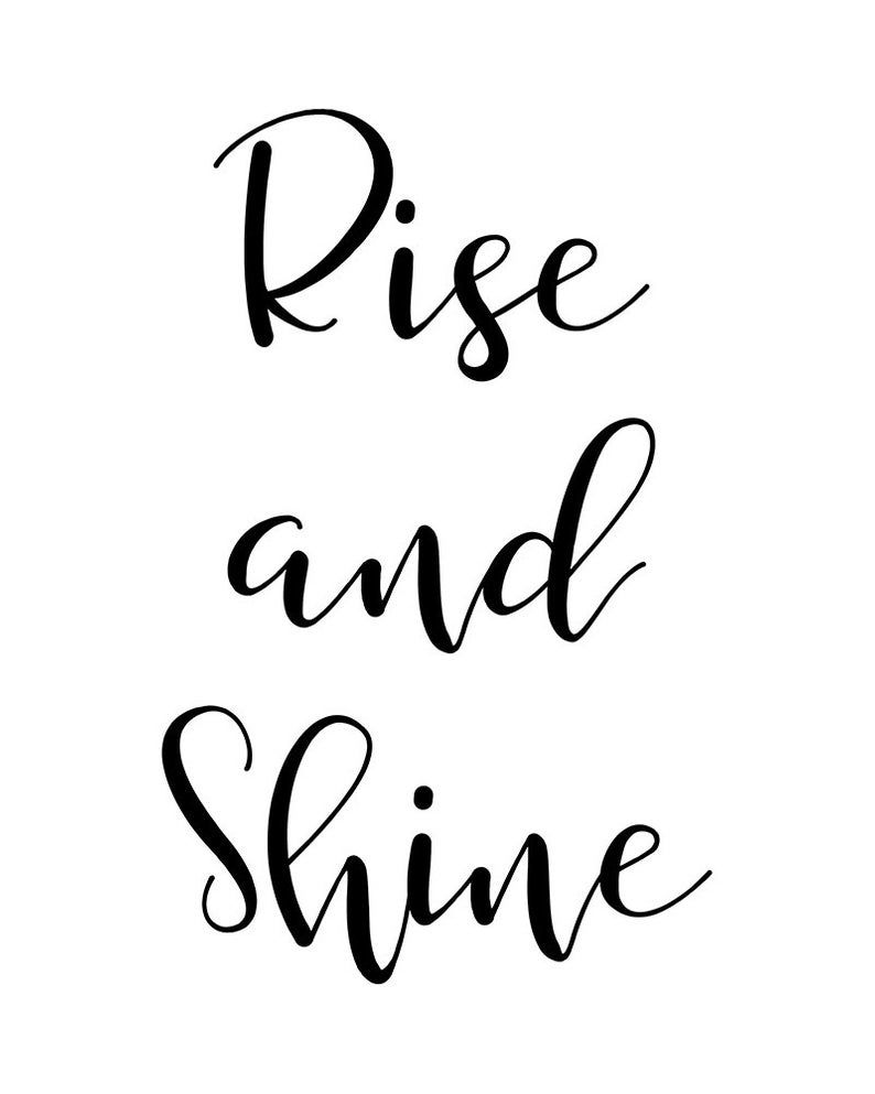positive-quotes-rise-and-shine-wall-art