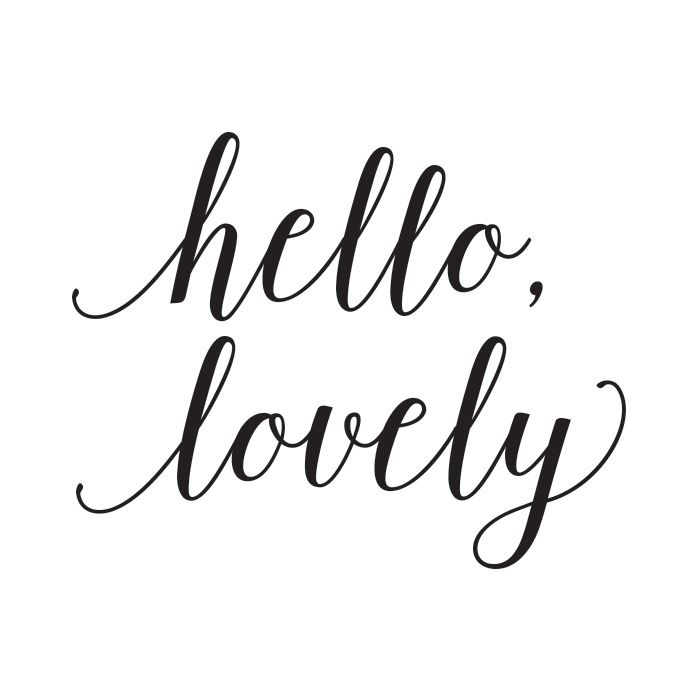 positive-quotes-hello-lovely-wall-art