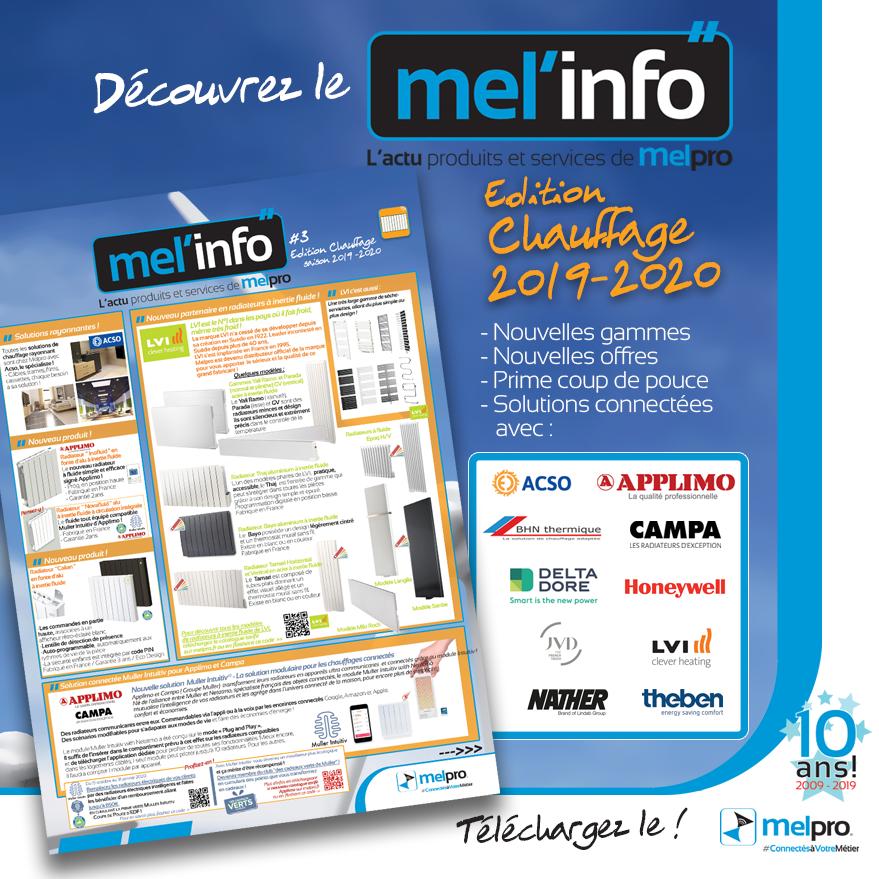Prime coupe de pouce EDF expliquée dans le Mel'Info de Melpro
